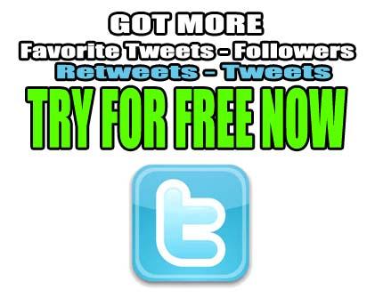 more twitter followers, tweets